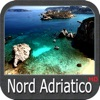 North Adriatic HD GPS nautical charts fishing maps