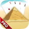 Pyramid Solitaire Ancient Egypt Classic Deck Pro