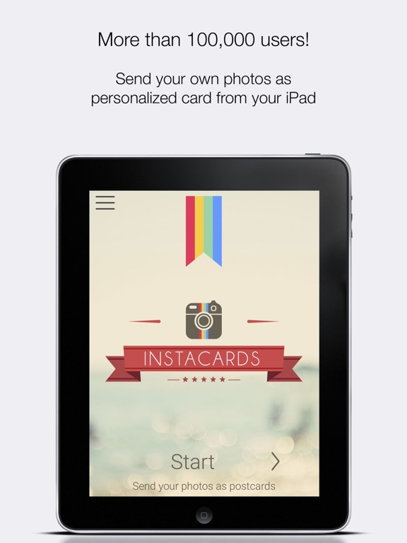 InstaCards by InPixio postcard photo cards on the App Store – Birthday Invitation Postcards