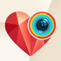 Liebe Foto Rahmen: Liebes Valentinstag Postkarten