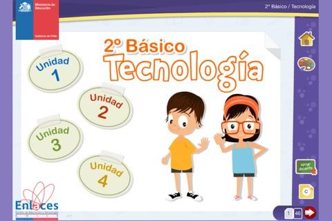 Tecnología 2º Básico screenshot 1