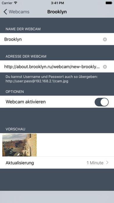 Screenshot von Webcams Lite - deine Kameras im Blick4