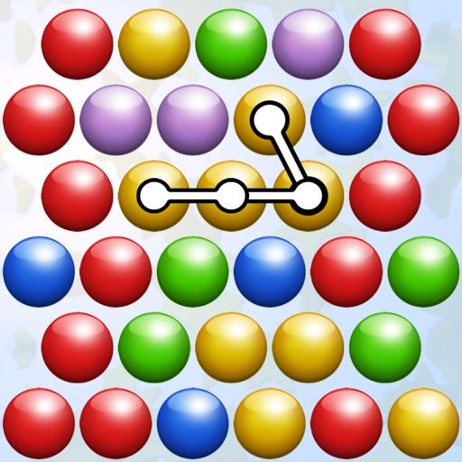 Connect Bubbles Now iOS App