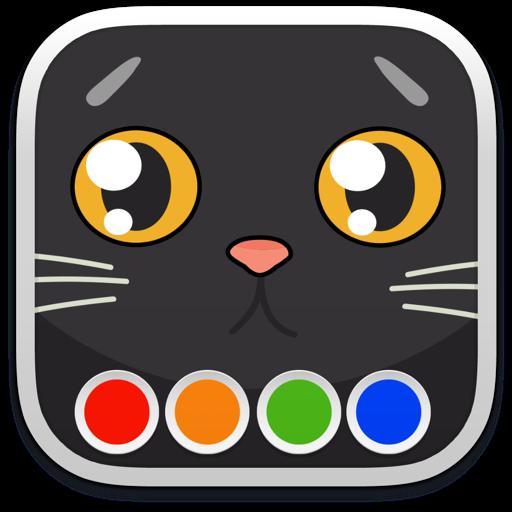 Раскраска - Коты