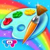 Pinte e Desenhe com Brilho — Livro de Colorir HD!