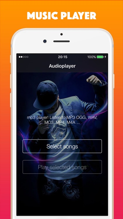 Free Music - Song MP3 Player & Playlist Manager by Fatima Ouchao
