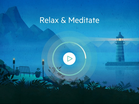 Screenshot #1 for Relax Meditation P: Mindfulness Sounds White Noise