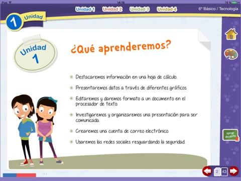 Tecnología 6º Básico screenshot 2