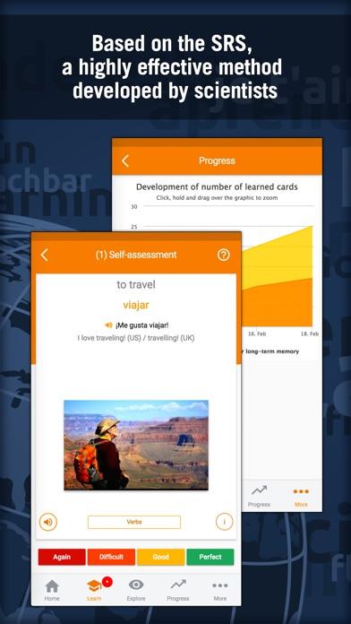 Learn Spanish: MosaLingua Screenshots