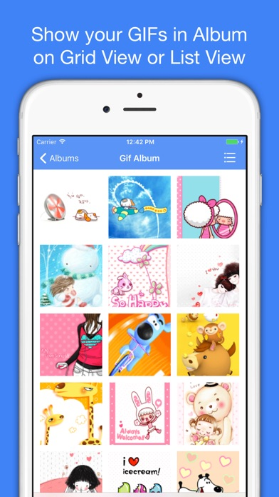 Gif viewer animated gif player downloader saver on the app store iphone screenshot 1 negle Gallery