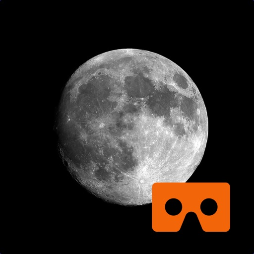 Virtual Reality Moon for Google Cardboard VR images