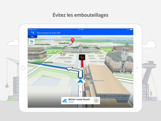 Screenshot #6 pour Sygic Amérique du Nord: Navigation GPS, Cartes