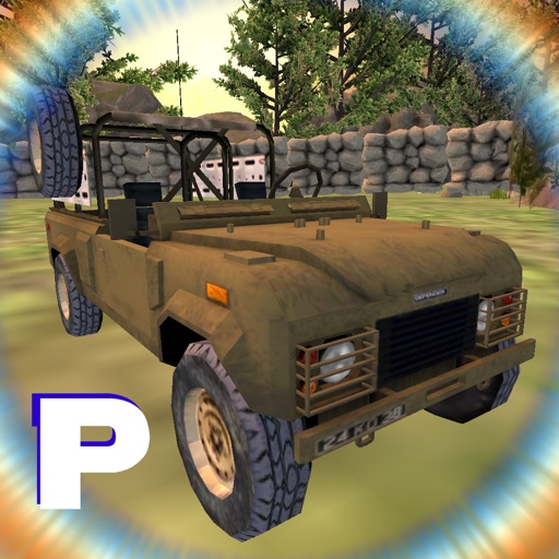 Army Jeep Parking Drive Test - Realistic Wrangler Vehicle Simulator iOS App