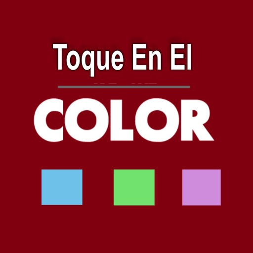 Toque en el color iOS App