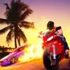 Miami Gangster Bike Vegas Vice Crime Simulator skills