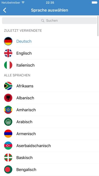 Instant Translate – Übersetzer, Wörterbuch, Stimme Screenshot
