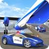 Polizei Flugzeug Transporter - Transport-LKW Spiel
