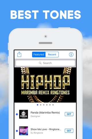 Ringtone Remixes - Marimba Remix Ringtones screenshot 1
