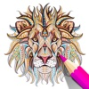 Coloring Book for Adults - Color Therapy Pages