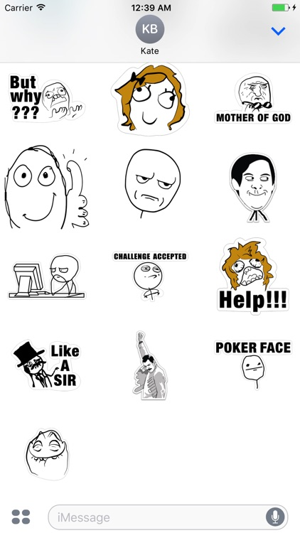 Memes stickers