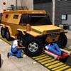 Mostro Camion Meccanico Simulator:Riparare Negozio