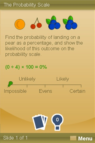 Numbers and Probability screenshot 2