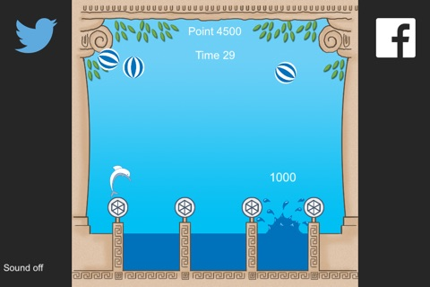 Dolphin Water Game screenshot 4