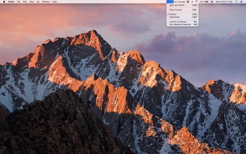 Screenshots Mac OSX