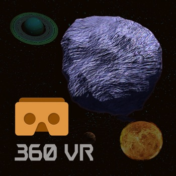 360 Asteroid Shooter (Google Cardboard VR) for iPhone