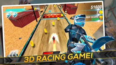 Screenshot #4 for Motocross Trial Racing 3D