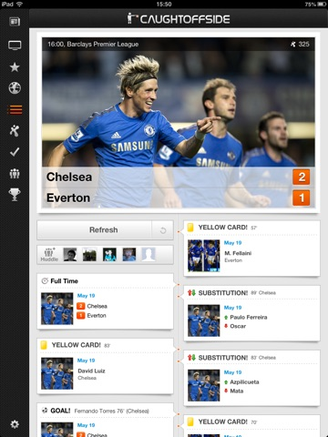 Caught Offside for iPad screenshot 4