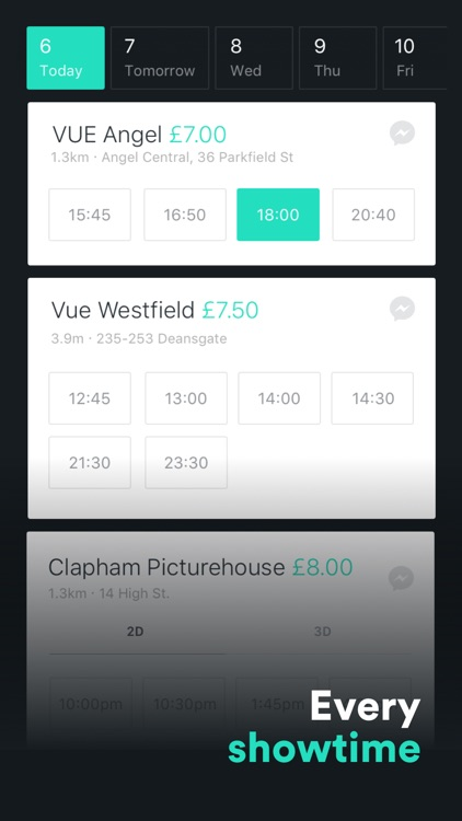 Cinema Club - Showtimes and Movie Tickets by YPlan Tonight
