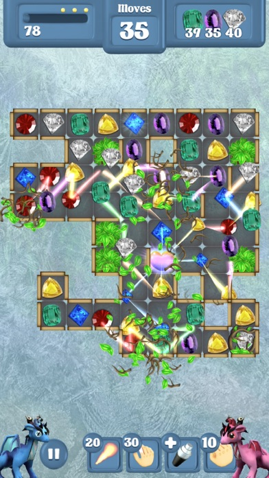 Frozen Dragon Gems Unlocked Screenshot 1