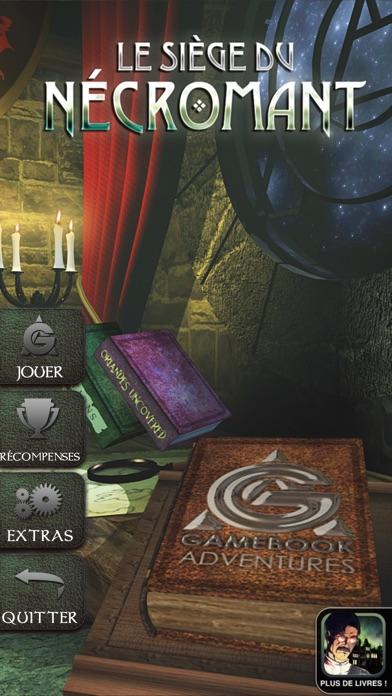 Gamebook Adventures 2: Le Siège du NécromantCapture d'écran de 1
