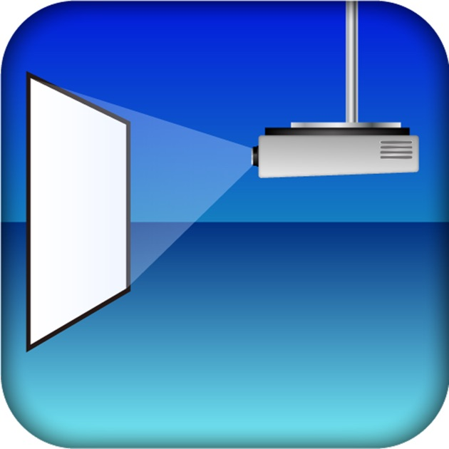 Projection simulator on the app store for Apple projector