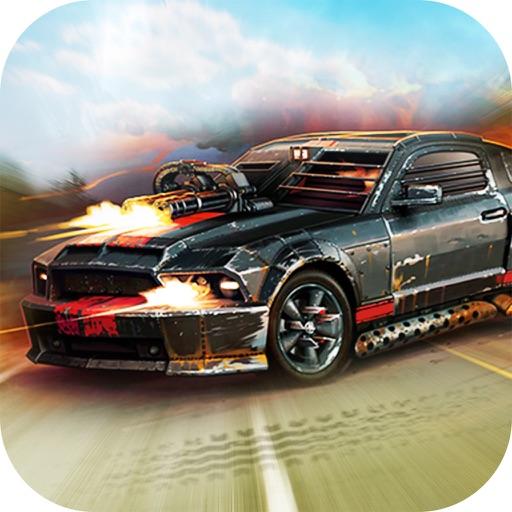 Death Drive 3D : Car Racing and Car Shooting game