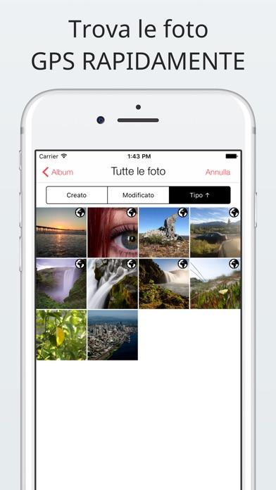Screenshot of Investigatore foto: visualizza, modifica, rimuovi4