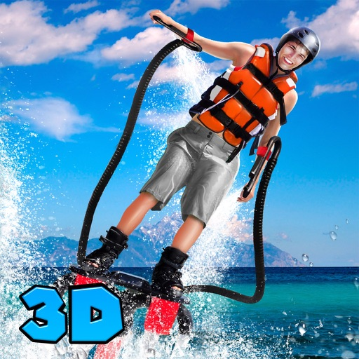 Flyboard: Water Hoverboard Stunt Simulator 3D Full iOS App