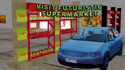 スーパーマーケットの車 - 市街モールシミュレータのスクリーンショット1