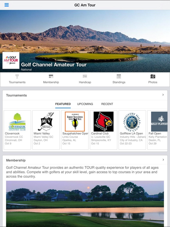 golf channel amateur golf tour № 300120