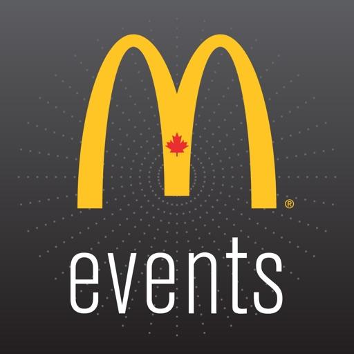 McDonald's Canada Events iOS App