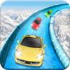 download Frozen Water Slide Car driving simulator pro