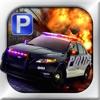 3D Police Car Parking Free - 停車場免費遊戲