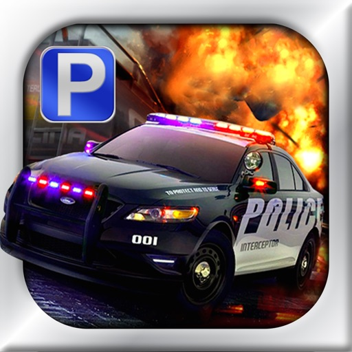 Police Car Parking Simulator Game