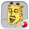 Jookgru Giraffe Cartoon Stickers for iMessage