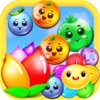 Fruit Crush Link 2017 - Candy Match 3 Puzzle Game fruit