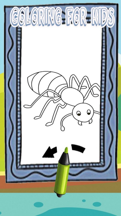 Ant Man Coloring Page Paint Games For Kids by tachit kanasuwan