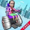 Granny Stunt Racing - Fun Granny Racing For Kids