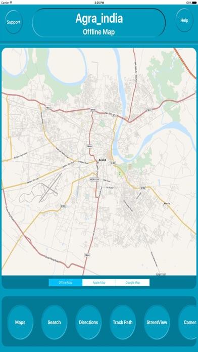 Agra india Offline Maps (eMap) Скриншоты3