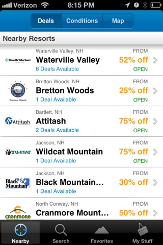Liftopia Lift Tickets screenshot 1